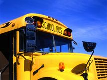 Yellow schoolbus Royalty Free Stock Photography