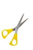 Yellow scissors Stock Photography