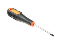 Yellow screwdriver Stock Photography