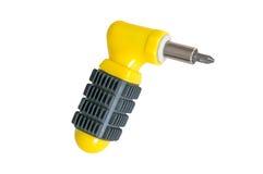 Yellow screwdriver. Stock Photos