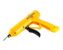 Yellow screwdriver Royalty Free Stock Image