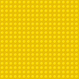 Yellow Seamless Background of Plastic Construction Stock Photography