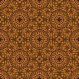 Yellow seamless pattern Royalty Free Stock Photo