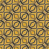 Yellow seamless pattern made from colorful butterfly wing for ba Stock Image