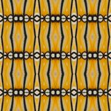 Yellow seamless pattern made from colorful butterfly wing for ba. Ckground texture Royalty Free Stock Photography