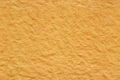 Yellow seamless stucco texture Stock Image