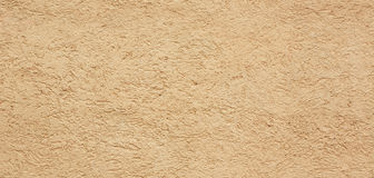 Yellow seamless stucco texture Stock Photos