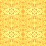 Yellow seamless texture Royalty Free Stock Image
