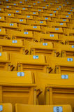 Yellow seat Royalty Free Stock Images