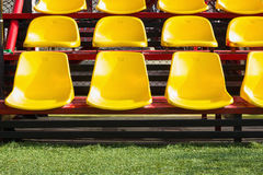Yellow seat Stock Photo