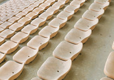Yellow seat Royalty Free Stock Photography