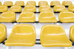 Yellow seat at Thep Hasadin Stadium Royalty Free Stock Image