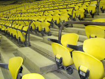 YELLOW SEATS Stock Photography