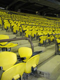YELLOW SEATS Stock Photos