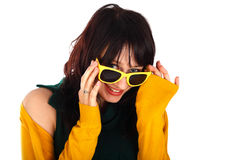 Yellow shades Stock Photos