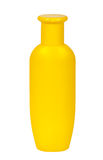 Yellow shampoo bottle Stock Images