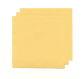 Yellow sheets of paper. For notes isolated on white background Stock Photography