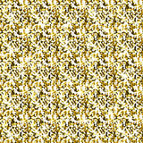 Yellow shine glitter vector background, golden sparkle abstract seamless pattern, glowing wallpaper Stock Photography