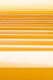 Yellow shine roof. Yellow shine roof with line Stock Images