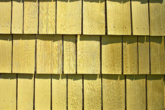 Yellow Shingle Pattern Royalty Free Stock Photo
