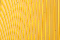 Yellow shiny iron plate Royalty Free Stock Photo