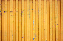 Yellow shipping container. Background texture Royalty Free Stock Photos