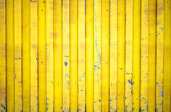 Yellow shipping container. Background texture Stock Photography