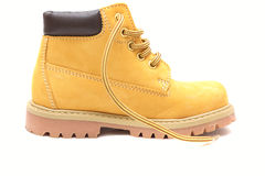 Yellow shoe Stock Image