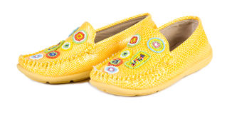 Free Yellow Shoes Royalty Free Stock Photo - 3485255