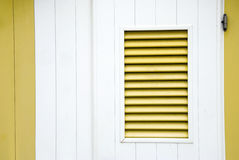 Yellow shutter Stock Photos