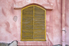 Yellow shutter Royalty Free Stock Photos