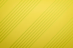 Yellow siding oblique line layout paper material background 3d r Royalty Free Stock Photos