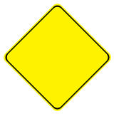 Yellow Sign Stock Photo