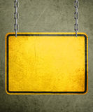 Yellow Sign Royalty Free Stock Photography