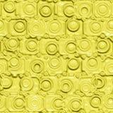 Yellow Silicon Pattern Stock Photos