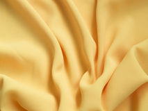 Yellow silk Royalty Free Stock Image