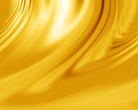 Yellow silk Stock Images