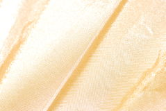 Yellow silk texture background Royalty Free Stock Images