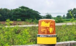 Yellow siren Stock Photo