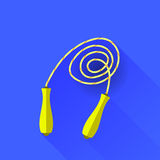 Yellow Skipping Rope Stock Photo