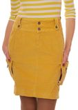 Yellow skirt. Stock Image