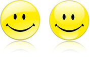 Yellow Smiley Stock Photography