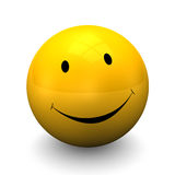 Yellow Smiley Royalty Free Stock Image