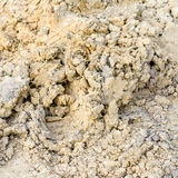 Yellow soil texture background Royalty Free Stock Photography