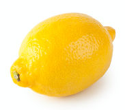 Yellow sour lemon Royalty Free Stock Photography