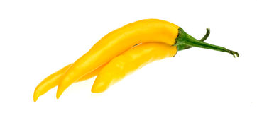 Yellow spanish pepper Stock Photography