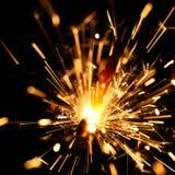 Yellow sparkler Stock Photos