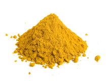 Yellow spice Stock Image