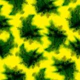 Yellow splashes pattern. Stock Images