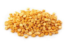 Yellow split peas Stock Photography